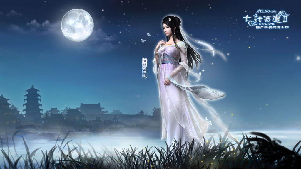 「唯美仙侠游戏」新倩女幽魂-对战里的切磋玩法